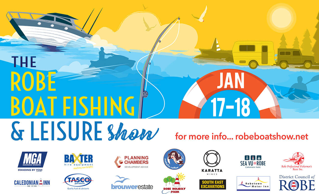 A3 Poster 2020 Robe Boat show REV
